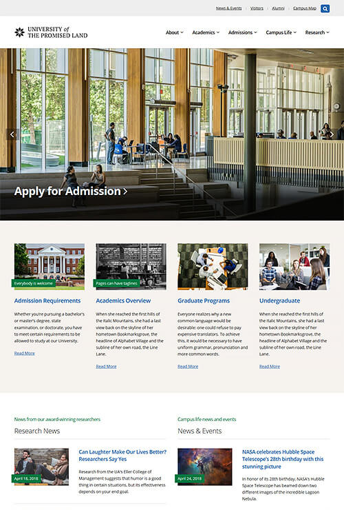 Bradbury WordPress Theme Screenshot